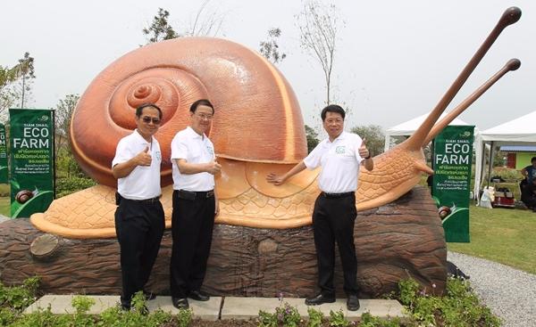 จุฬาฯ เปิดฟาร์มหอยทากเชิงนิเวศแห่งแรกในเอเชีย | Siam Snail